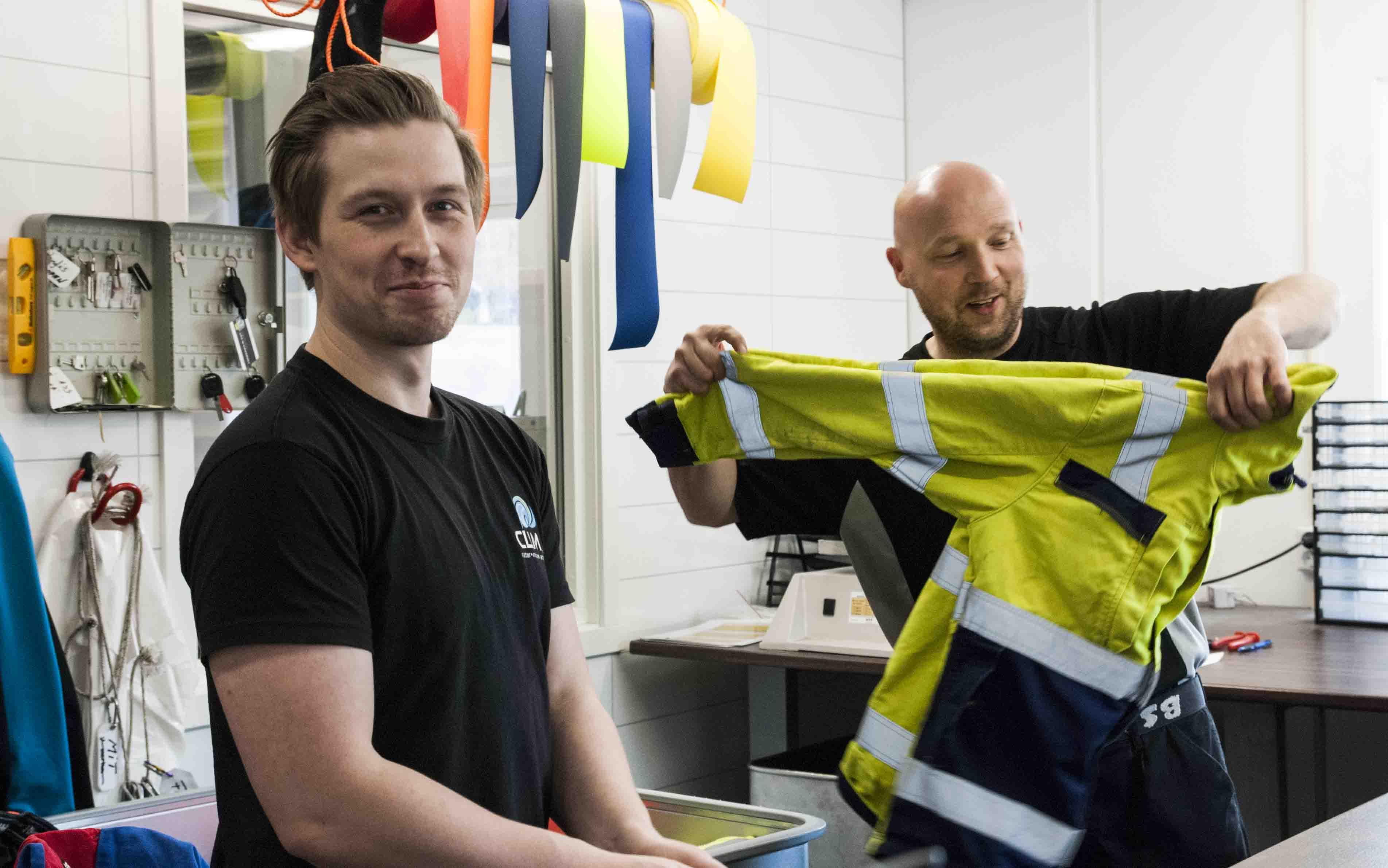be1045c8 Rens og vask av arbeidstøy på Helgeland